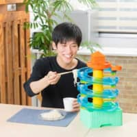 Go with the flow: This year's edition of Takara Tomy Arts Co.'s Big Stream Somen Slider lets you combine parts to create various tracks for the noodles to circulate.