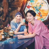Mix it up: Rachel Watashiga (left) and Mamiko Suzuki formed the rap duo Chelmico in the early 2010s. | COURTESY OF WARNER MUSIC JAPAN
