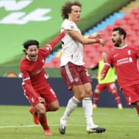 Takumi Minamino scores first goal for Liverpool in Community Shield