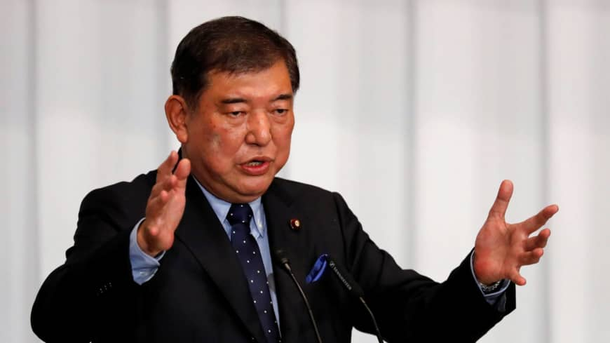 Shigeru Ishiba seen as most fit to be Abe's successor, poll shows