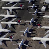 Planes around the world have been grounded as a result of the pandemic decimating international travel and passenger numbers. | REUTERS