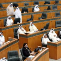 In Kuwait, a standoff between the elected parliament and a government whose prime minister is appointed by the emir has led to policy gridlock. Lawmakers have thwarted plans to reallocate state handouts and blocked proposals to issue debt. | AFP-JIJI