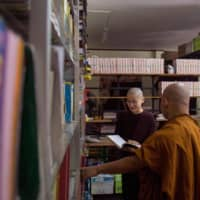 In a society that urges every woman to 'regard her son as her master and her husband as her god,' Buddhist nun Ketumala is already an outlier.   AFP-JIJI