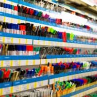 The write stuff: The stationery section at a Japanese department store is a colorful place.  | GETTY IMAGES