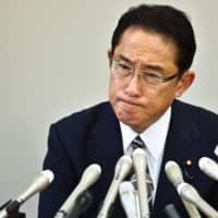 Avoiding confrontation has made Fumio Kishida appear to some as passive and devoid of fighting spirit. | AFP-JIJI