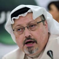 Saudi Arabia jails eight over Jamal Khashoggi murder as fiancee decries trial