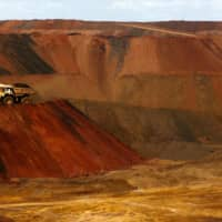 The Fortescue Metals Group's Christmas Creek iron ore mine in the Pilbara region of Western Australia | REUTERS