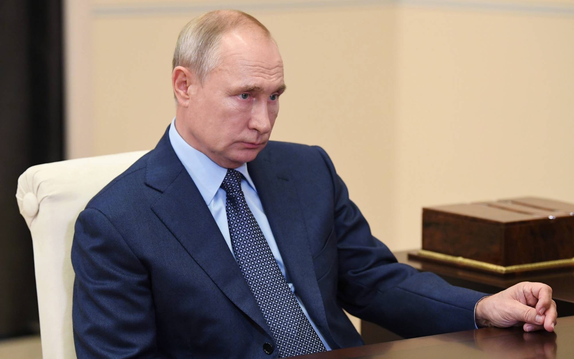 The Kremlin under President Vladimir Putin is well served by a belief that there is no line it will not cross to silence its enemies. | SPUTNIK / ALEXEI NIKOLSKY / KREMLIN VIA /  REUTERS