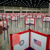 This year, the Donald Trump campaign and the Republican Party have cited concerns about voter fraud in a U.S. legal battle with Democrats and voting-rights advocates over election procedures during the COVID-19 pandemic. | REUTERS