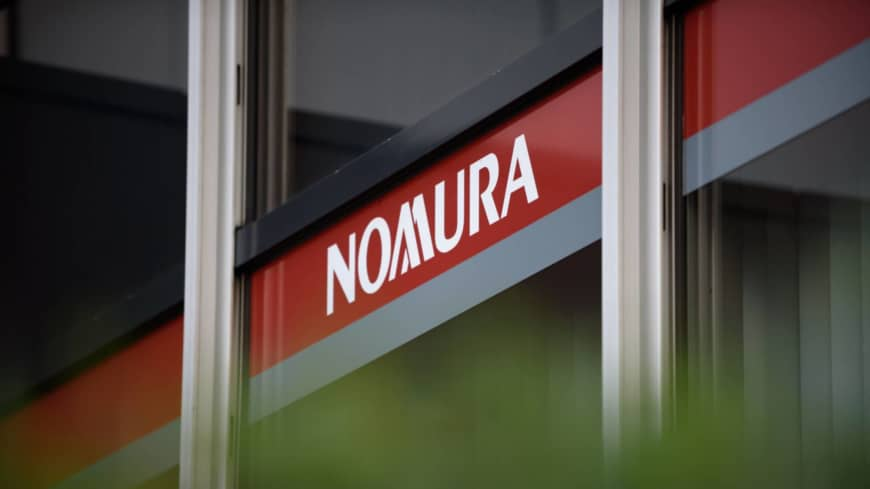 Data on corporate clients was leaked to securities firm, Nomura admits