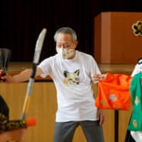 Children's puppet shows help bunraku master endure coronavirus shutdown