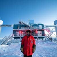Japanese researcher fulfills dream as a 'winterover' at South Pole