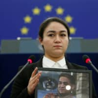 Her father in prison, Uighur activist wants Disney to apologize