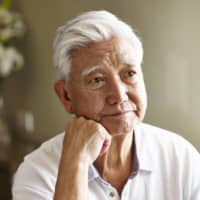 British research that Shukan Gendai cites shows men aged over 55 are more likely to die if recently widowed at a rate 40 percent higher than that of the general population. | GETTY IMAGES