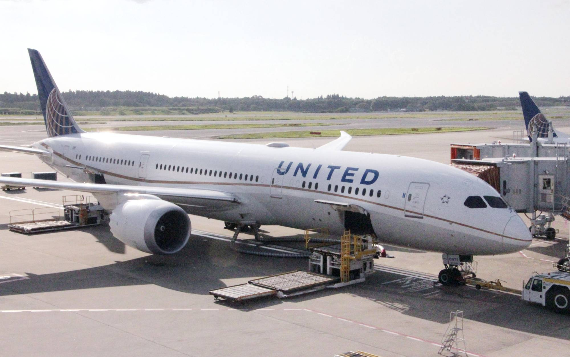 About 150 Japanese flight attendants at United Airlines based in Narita are at risk of losing their jobs. | KYODO