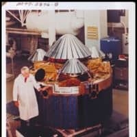 The Pioneer Venus Multiprobe before it was launched in 1978. While dozens of missions were launched to Venus in the past, it is only being explored by one Japanese spacecraft now.  | NASA / VIA THE NEW YORK TIMES