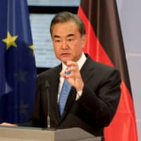 Many observers allegedly found Chinese Foreign Minister Wang Yi Wang arrogant and overbearing during a recent tour of Europe aimed at forestalling a European economic de-coupling. | POOL / VIA REUTERS