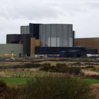 The Wylfa Newydd nuclear power station on Anglesey, northwest Wales | AFP-JIJI
