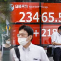 With the new Suga administration, the benchmark 225-issue Nikkei average is expected to test an upside of around 24,000 by the end of the year, analysts say. | KYODO