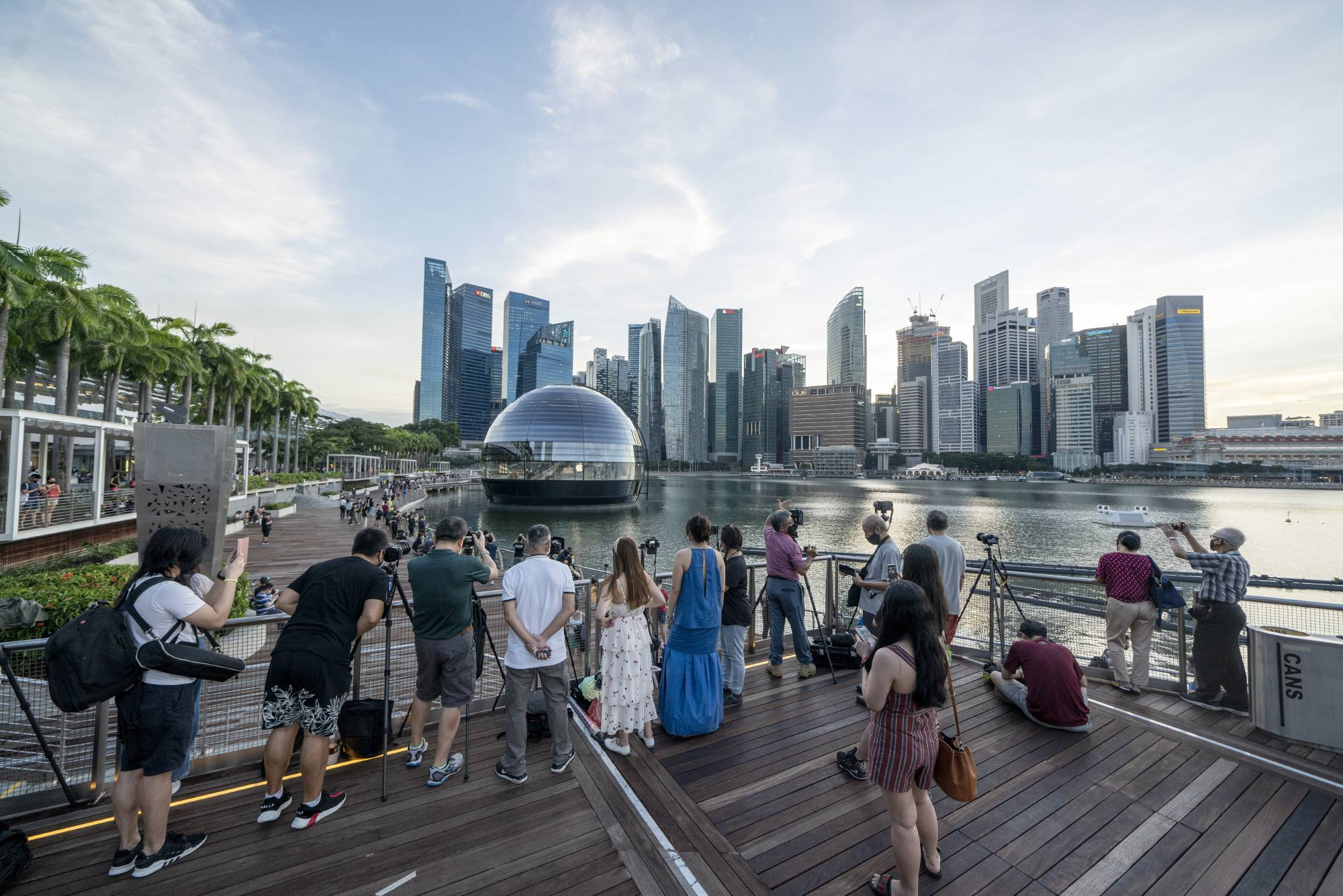 Amid the drumbeats of a U.S.-China cold war, the Singapore is often talked about as a sanctuary for capital looking to flee the clash of superpowers.  | BLOOMBERG
