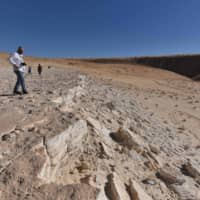 Human footprints dating back 120,000 years found in Saudi Arabia