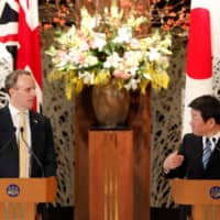 The agreement in principle on a new U.K.-Japan trade deal is significant for a number of reasons that go much deeper than just trade. It marks a firm step towards the realization in British policy circles that the future is increasingly Asian. | REUTERS