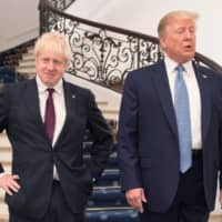 U.S. President Donald Trump has been almost as influential in reshaping the means and mien of the U.K.'s Conservative Party as he has the Republican Party. Many Tories quite like it that way. | POOL / VIA REUTERS
