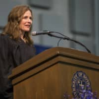 Amy Coney Barrett, United States Court of Appeals for the Seventh Circuit judge and a front-runner to fill the Supreme Court seat vacated by the death of Justice Ruth Bader Ginsburg, has established herself as a reliable conservative on hot-button legal issues from abortion to gun control. | SOUTH BEND TRIBUNE / VIA AP