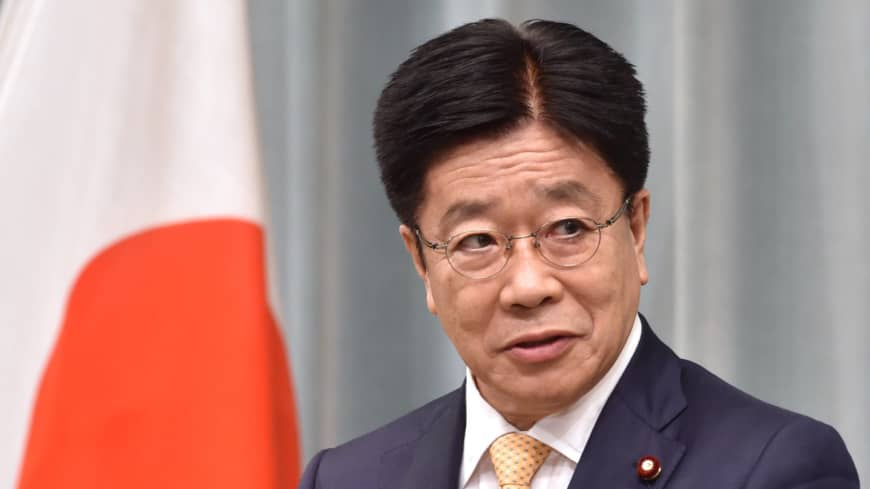 Meet Japan's new top government spokesman, same as the last one
