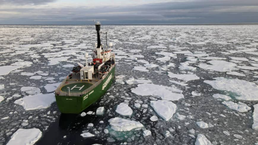 'Devastating' loss pushes Arctic sea ice to second-lowest level on record