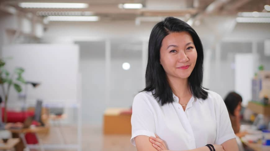 It's about visibility: Yan Fan says that there needs to be an effort to get more women on panels so that those who work in male-dominated industries will start to see women as the capable professionals they are.