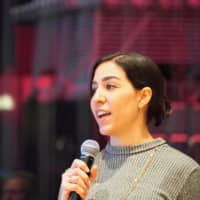 Speaking up: Tutti Quintella is one of the founders of SpeakHer, an organization whose goal is to get more women on discussion panels. |