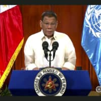 Philippines' Duterte gets tough on China in shift back toward U.S.