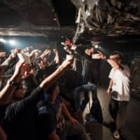 Indie spirit: Before the COVID-19 pandemic hit, Kaala helped promote shows such as Nepenthes at Earthdom in Tokyo's Okubo neighborhood. The group of independent music promoters is now taking its efforts to streaming platforms. | MICHAEL HOLMES