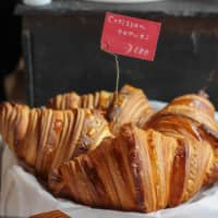 Fluffy and flaky: Eteco Bread's croissants gleam with buttery promise. | PHOEBE AMOROSO