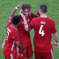 Javi Martinez hands Bayern 'dream' Super Cup win in front of fans