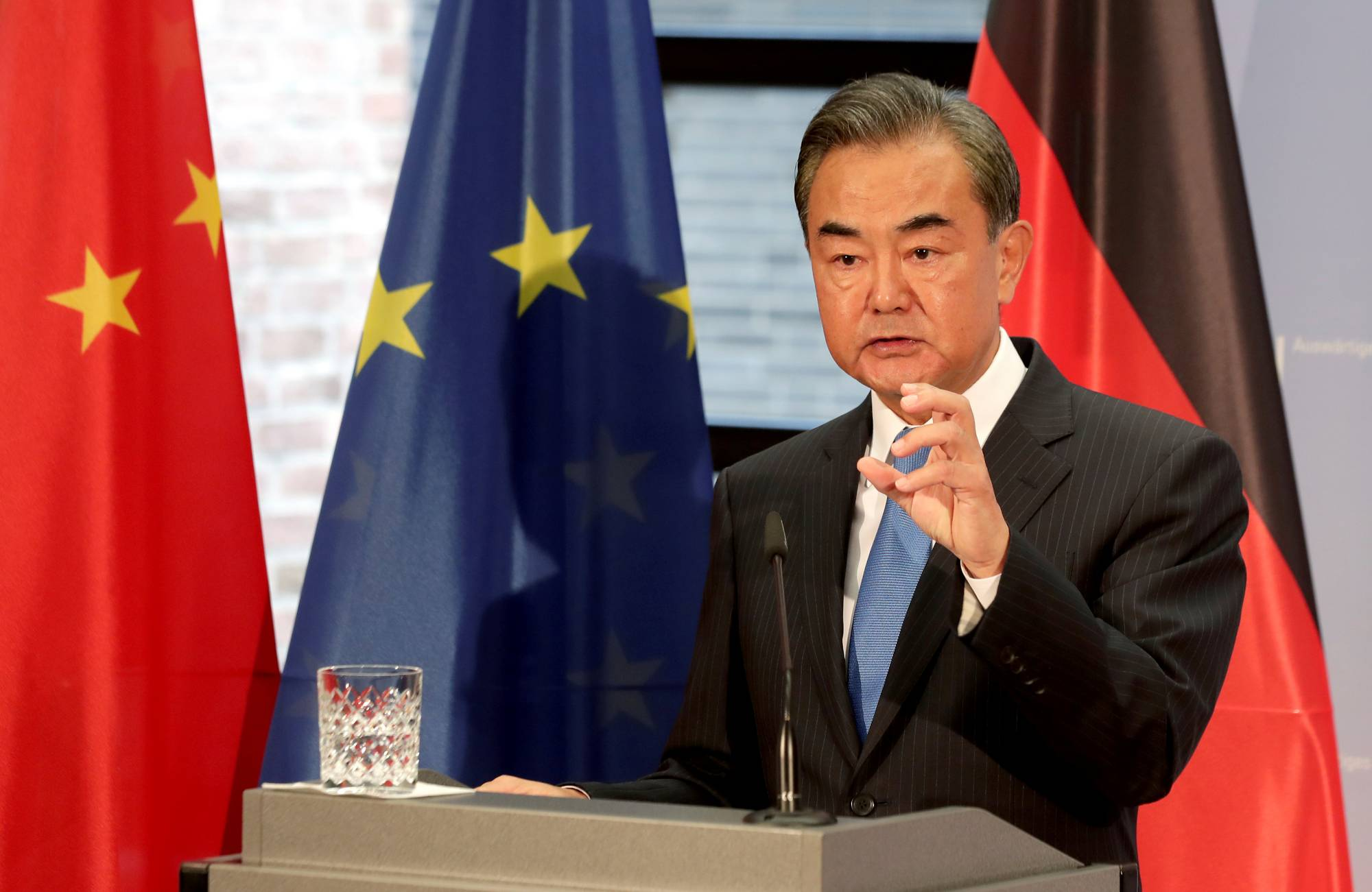 Wang Yi | POOL / VIA REUTERS