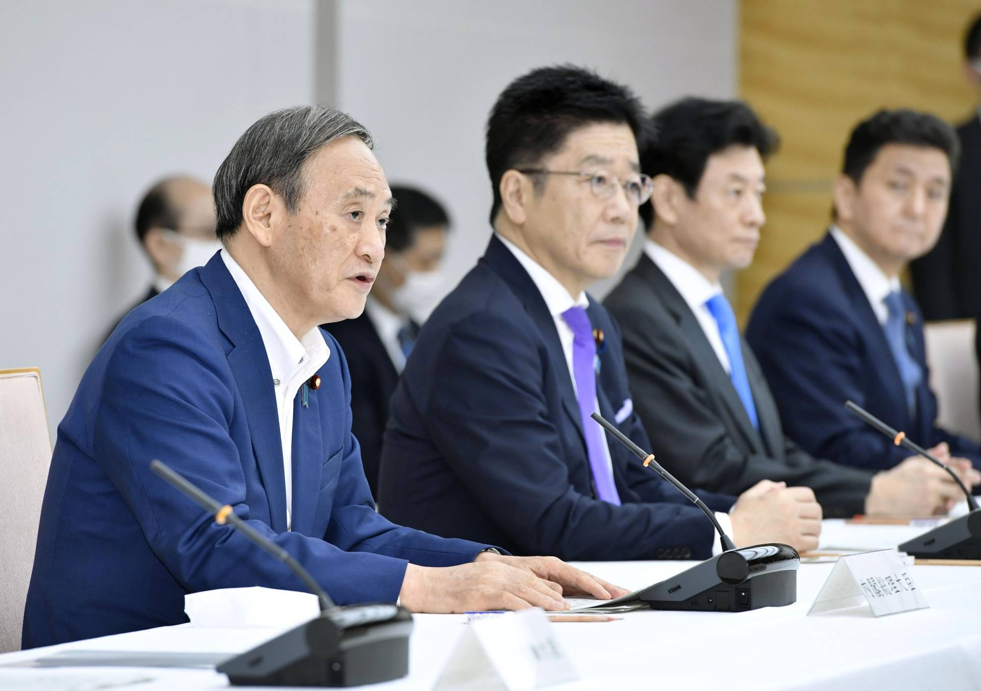 The power balance among government ministries and agencies is likely to change under the administration of Prime Minister Yoshihide Suga. | KYODO
