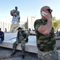 Azeris and Armenians plunge into war as Russia and Turkey look on