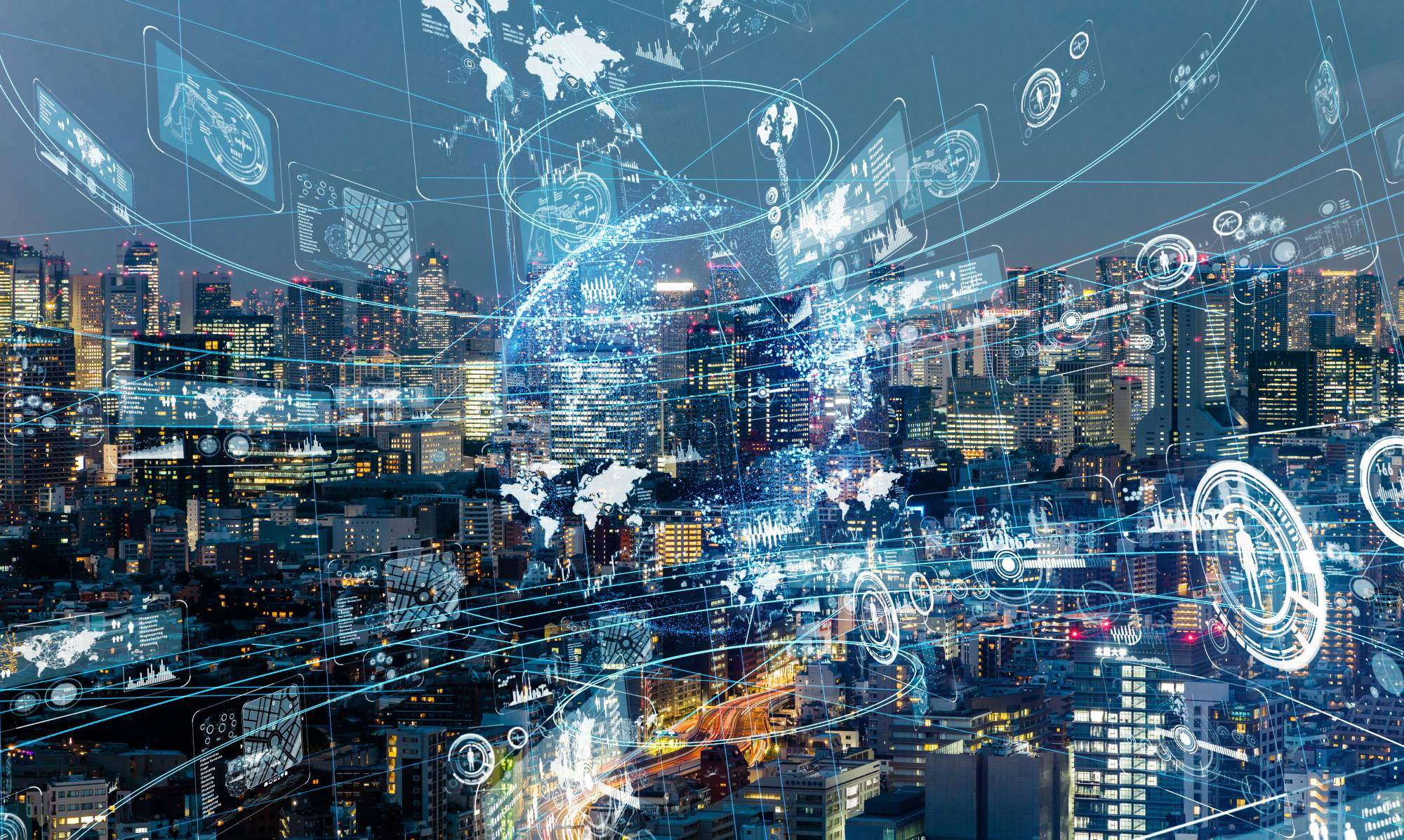 Smart cities will not necessarily look much different from the municipalities we now know, but will involve digital technology being integrated into the environment. | GETTY IMAGES