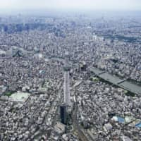 Land prices in Tokyo fell this year as commercial demand dropped amid the coronavirus pandemic. | KYODO
