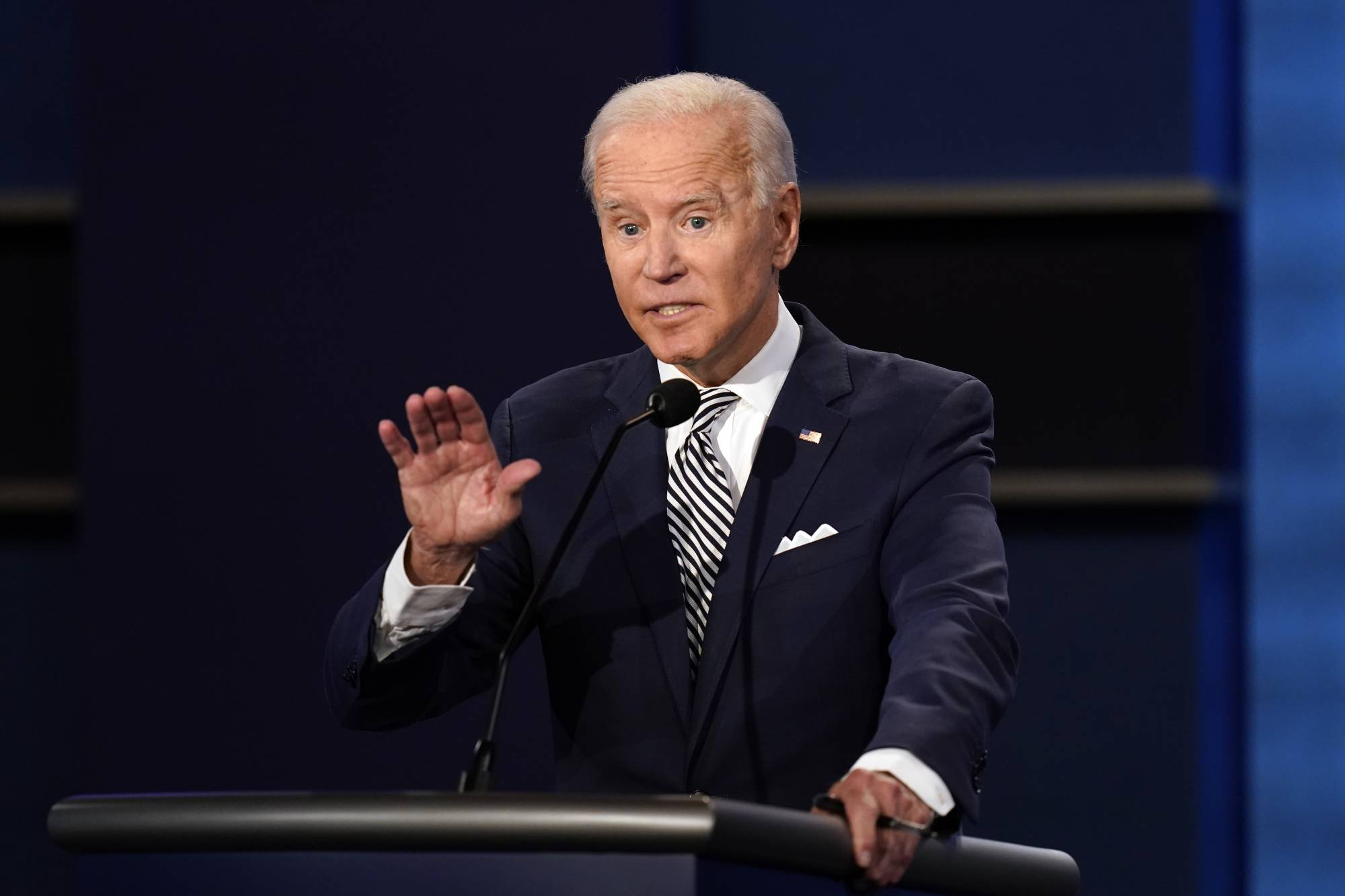 On Tuesday, Democratic U.S. presidential candidate Joe Biden was the candidate Democrats have come to know, for better or worse, across three presidential campaigns and a what-did-he-say-now vice presidency.   AP