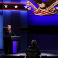 Of course, the U.S. presidential debate was always going to be about Trump
