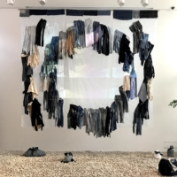 Tanaka's 'The Life of Clothing Through Denim, from Birth to Death to Reincarnation'   MIO YAMADA