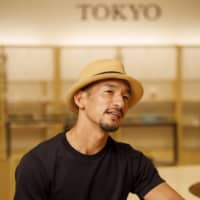 Former soccer star Hidetoshi Nakata toured the country to learn about traditional Japanese culture, visiting sake brewers to find out more about what they did. | MARTIN HOLTKAMP
