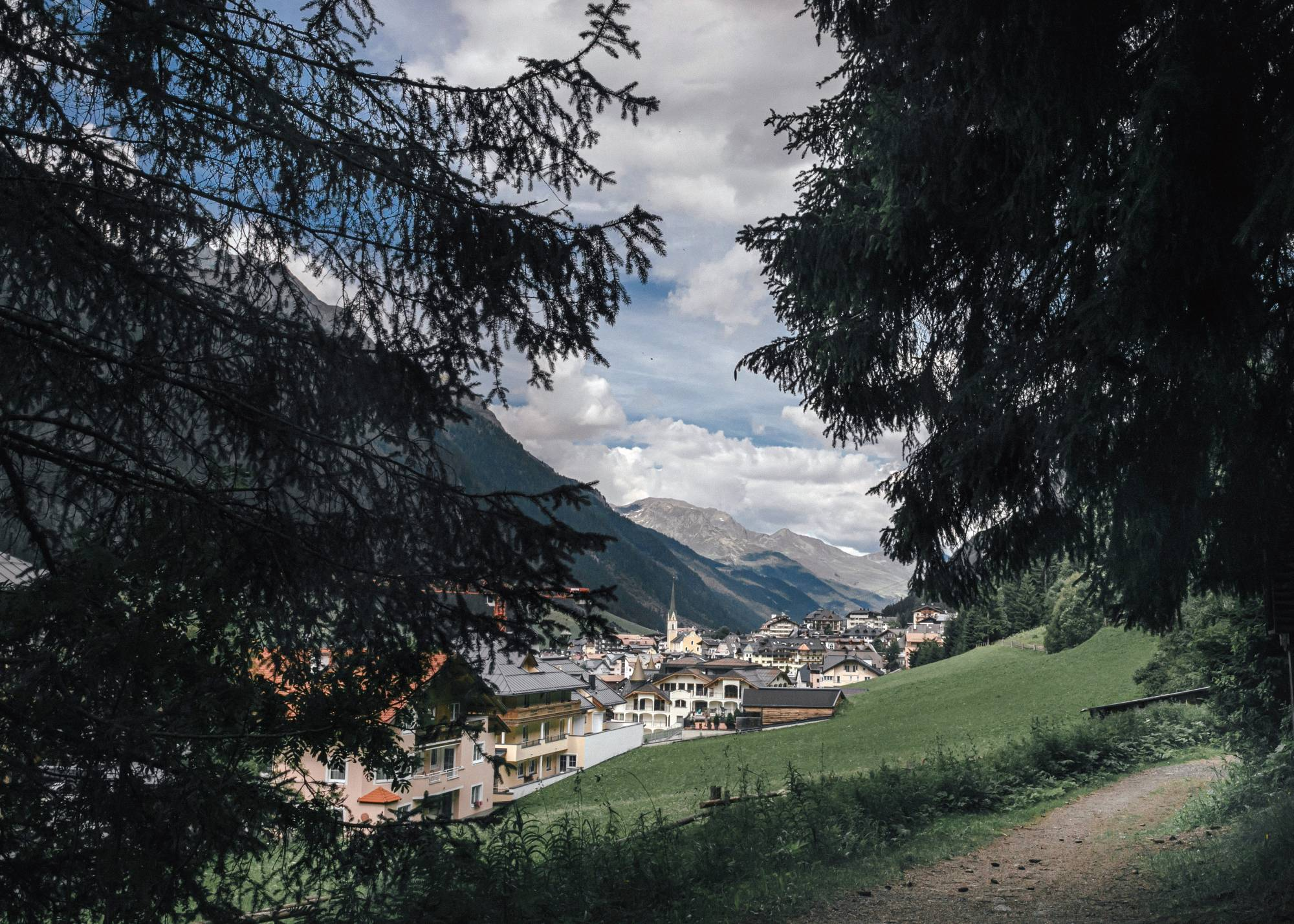 The village of Ischgl, Austria, the gateway to one of Tyrol's most popular ski resorts | ANDREA MANTOVANI / THE NEW YORK TIMES