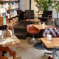 Peace and quiet: Route Books is a two-story bookstore and cafe full of lush plants, plenty of books and a select menu of drinks and homemade sweets. | LEO HOWARD