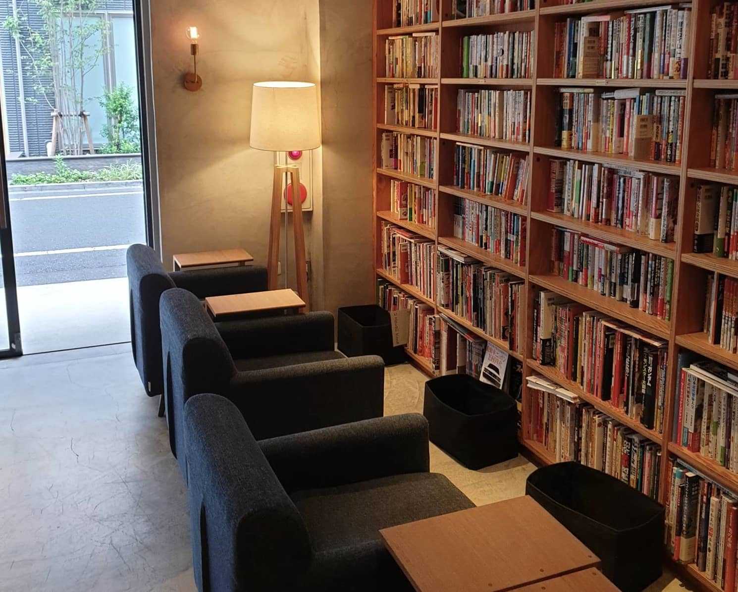 Puzzle master: RBL Cafe, founded by a quiz fanatic, is packed with reference books useful for quiz games. | LEO HOWARD