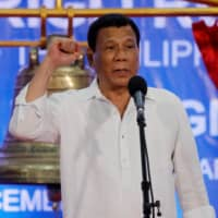 Philippines' Duterte scores record high rating — despite virus crisis