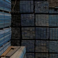 Recycled plastic strips at an Extruplas plant in Seixal, Portugal  | REUTERS